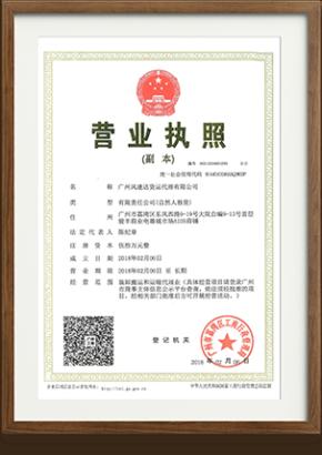 Гарантии, лицензии и сертификаты №3
