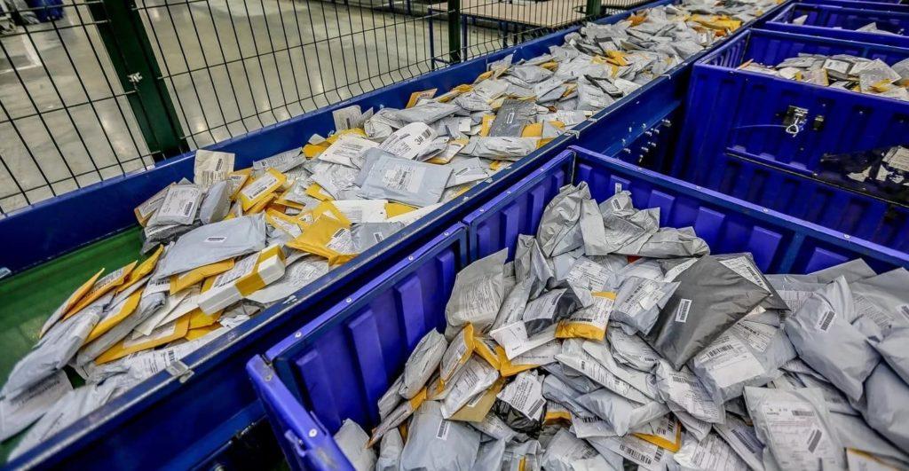 Как доставляют посылки из китая №2